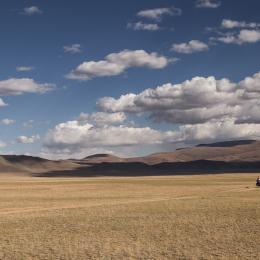 Mongolijos foto drobė 3