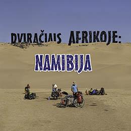 Dviračiais Afrikoje: Namibija (2017)